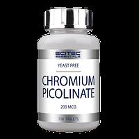 Витамины и минералы Scitec Nutrition Chromium Picolinate (100 tabs)