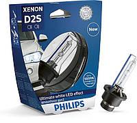 Лампы Philips Xenon WhiteVision gen2 ➤ D2S ➤ Видимость на 120 % лучше ➤ Бесплатная доставка!