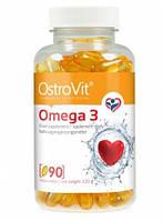 Жирные кислоты - Ostrovit - Omega 3 - 90 капс