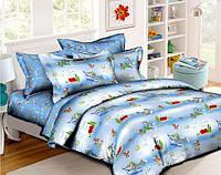 """Комплект постельного белья из ранфорса ТМ """"Ловец снов"""", Том и Джерри"""