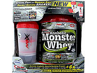 Протеин AMIX Anabolic Monster Whey Box with Monster Shaker (2 kg)