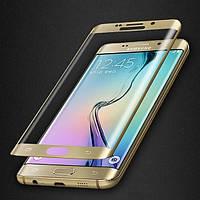 Защитное стекло 3D для Samsung Galaxy S6 Edge Plus G928 закругленные края, фото 1
