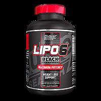 Жиросжигатель - Lipo-6 Black - Nutrex - 120 капс