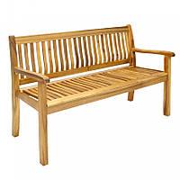 Скамейка деревянная   AKVERONA U 150 см