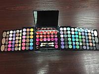 Набор для макияжа тени +блески АЕ-889 с зеркалом, фото 1