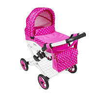 Коляска для куклы - Pink Polka Dots