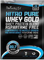 Протеин BioTech Nitro Pure Whey Gold (28 g)