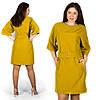 Янтарное платье 15582, большого размера
