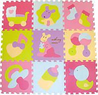 Детский игровой коврик - пазл «Маленький кенгуренок» GB-M129KB Baby Great