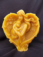 Сувенирная свеча в виде Сердца для мамы, фото 1