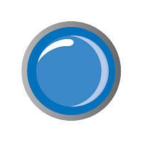 "Биогель цветной ""IRISK"" №16 Metallic Blue, 5 мл Premium Pack"
