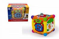 Детский игровой музыкально-развивающий центр Волшебный кубик