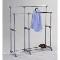 Стойка для одежды раздвижная двойная DA CH-4566
