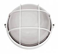 Светильник настенный RIGHT HAUSEN  круг 60W с реш. белый