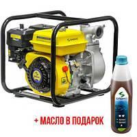 Мотопомпа Sadko WP-5065P (30 м.куб/час, для чистой воды) Sadko