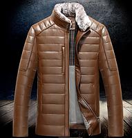 Мужская зимняя дубленка. Модель 940