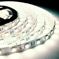 Светодиодная лента 12В 3014 (240LED/м) IP20 белый (тёплый)