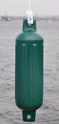"Кранец для швартовки ребристый 6.5""x23"", зеленый Канада, фото 2"