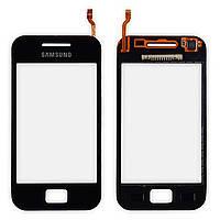 Сенсор (тачскрин) Samsung S5830i Galaxy Ace, черный