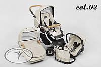 Детская универсальная коляска 2 в 1 DPG Carino 02