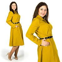 Янтарное платье 15580, большого размера