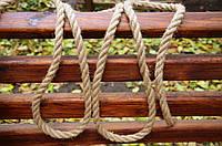 Джутовий канат 24 мм для декоративної обробки, фото 1