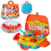 Набор игрушечной посуды в чемодане 16803,15 предметов
