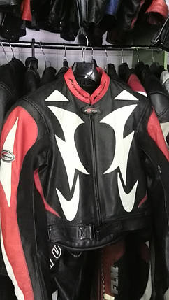 Мотокуртка бу кожа RIOSI, фото 2