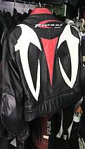 Мотокуртка бу кожа RIOSI, фото 3