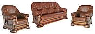 """Комплект классической мебели """"Grizly"""" (Гризли) (3+1+1)"""