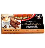 Молочный шоколад Maître Truffout с начинкой капучино, 8 х 12,5 г.