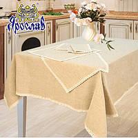 Набор скатерть для кухни 150x150 + 4 салфетки