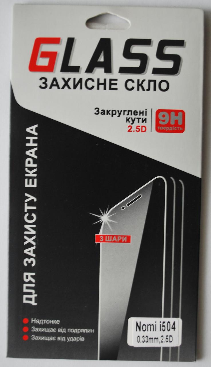 Захисне скло для Nomi i504, F102