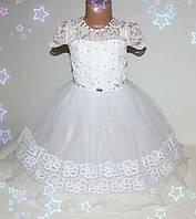 Детское праздничное платье  на девочку (нарядное, новогоднее) 4-7 лет шнуровка