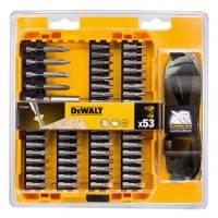 Акс.инстр DeWALT  Набор DT71540 бит магнит. держатель 53 предм.