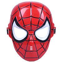 Маска Человек-паук плотный пластик