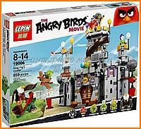 Конструктор Lepin Angry Birds 19006 Замок Короля свинок 859 деталей