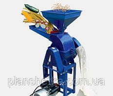 Корморезка + зернодробилка ДТЗ КР-20C (стебли + зерно + почтаки кукурузы + овощи + фрукты)