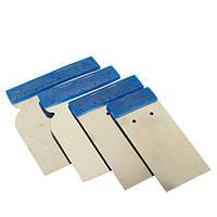 Набор гибких металлических шпателей Car System (4 шт./компл)
