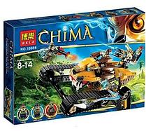 Конструктор Bela серия Chima 10056 ''Королевский охотник Лавала'', 422 дет.