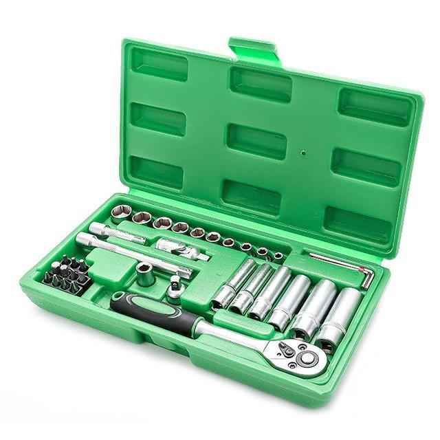 Набор инструментов Intertool (Интертул) ET-6036 36 предметов