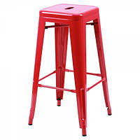 Табурет Хокер Loft Metal Красный