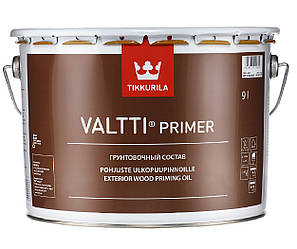 Грунтовка антисептическая TIKKURILA VALTTI PRIMER для древесины 9л