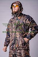 Куртка камуфляжная  Дюспо с флисом дубок, фото 1