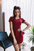 Женское мини платье №17-367