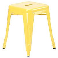 Табурет Loft Metal (разные цвета) Желтый