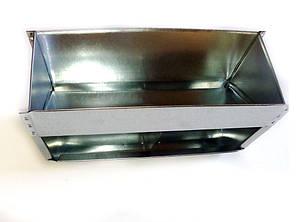 Бункерная кормушка для кроликов и др. грызунов на 5 литра +с перегородкой, фото 2