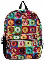 """Оригинальный рюкзак """"Пончики""""  20 л MOJO КАА9984437, цвет мульти"""