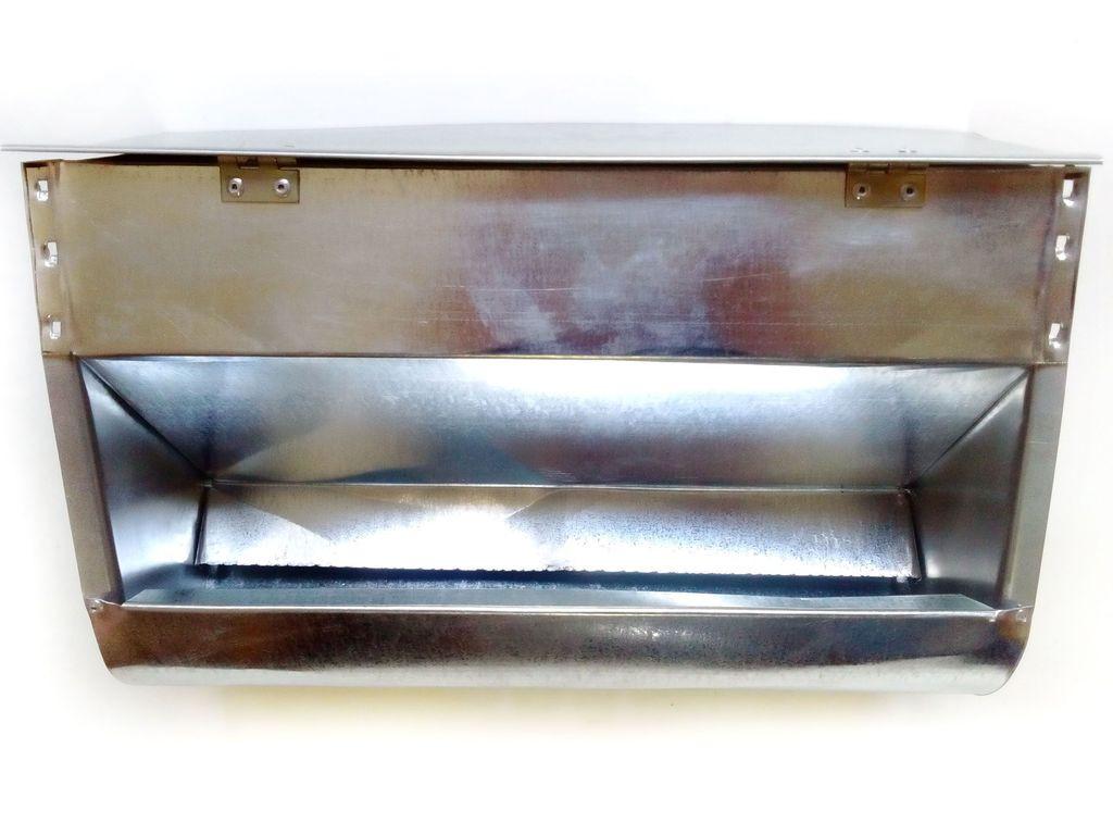Бункерная кормушка для кроликов и др. грызунов на 5 литра с крышкой
