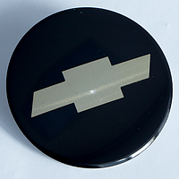 Наклейки на литые диски Chevrolet 56,5 мм выгнутые